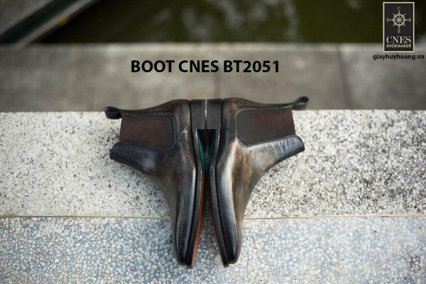 Giày da nam hàng hiệu Boot CNES BT2051 004
