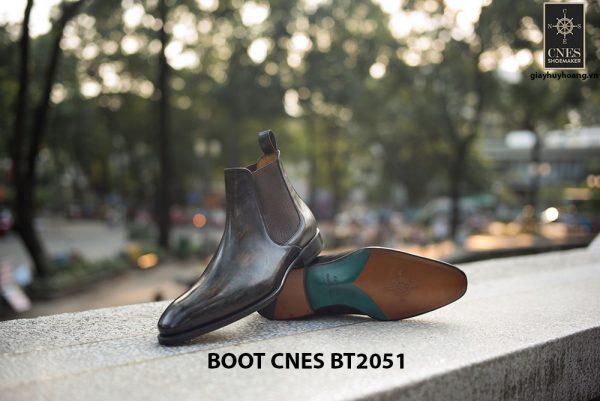 Giày da nam hàng hiệu Boot CNES BT2051 003