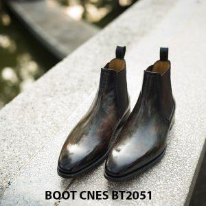 Giày da nam hàng hiệu Boot CNES BT2051 001