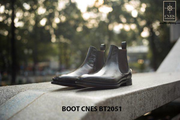 Giày da nam hàng hiệu Boot CNES BT2051 002