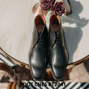 Giày da nam cổ thấp Chukka Boot CNES BT2041 001
