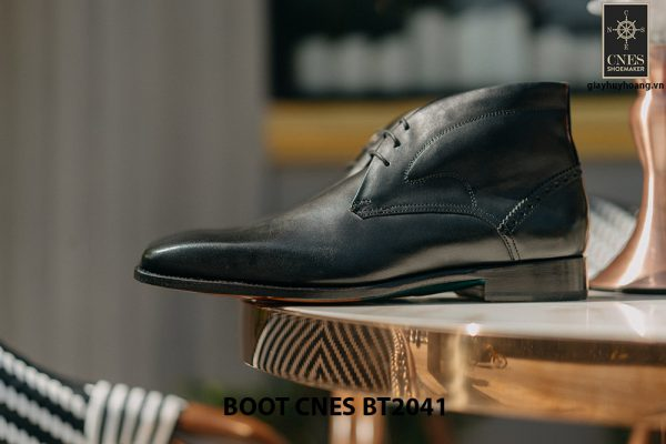 Giày da nam cổ thấp Chukka Boot CNES BT2041 004