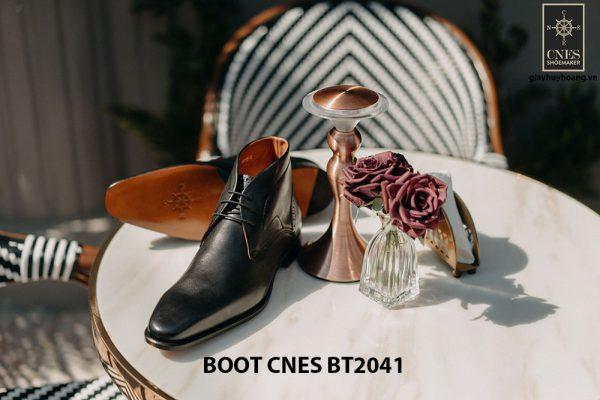 Giày da nam cổ thấp Chukka Boot CNES BT2041 003