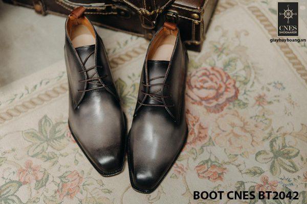 Giày da nam Chukka Boot CNES BT2042 001