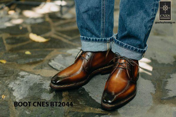 Giày da nam chính hãng Chukka Boot CNES BT2044 005