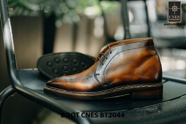 Giày da nam chính hãng Chukka Boot CNES BT2044 003