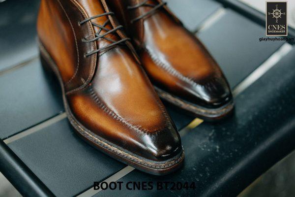 Giày da nam chính hãng Chukka Boot CNES BT2044 002