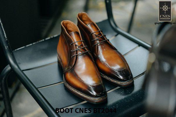 Giày da nam chính hãng Chukka Boot CNES BT2044 001