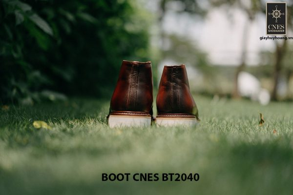 Giày tây nam cao cấp Chukka Boot CNES BT2040 004