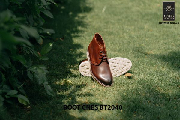 Giày tây nam cao cấp Chukka Boot CNES BT2040 003