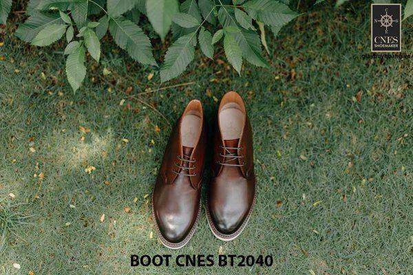 Giày tây nam cao cấp Chukka Boot CNES BT2040 001