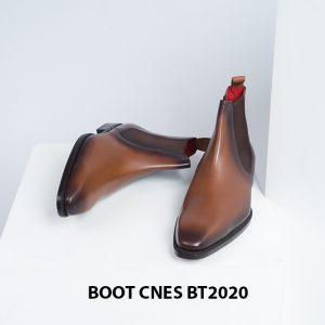 Giày tây nam đẹp Chelsea Boot CNES BT2020 002