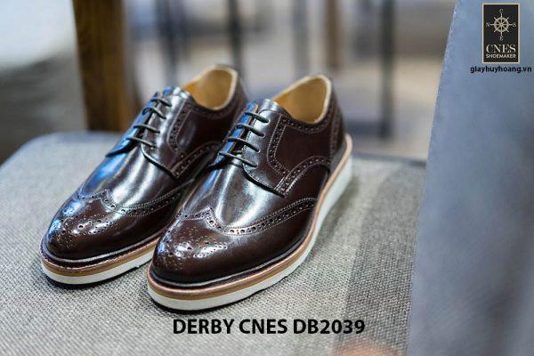 Giày da nam thủ công Derby CNES DB2039 001