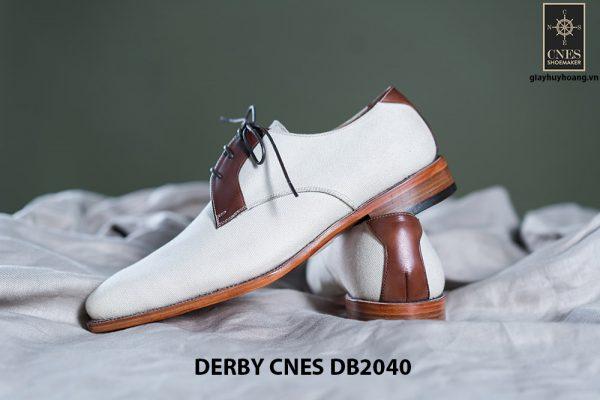 Giày da nam buộc dây Derby CNES DB2040 006