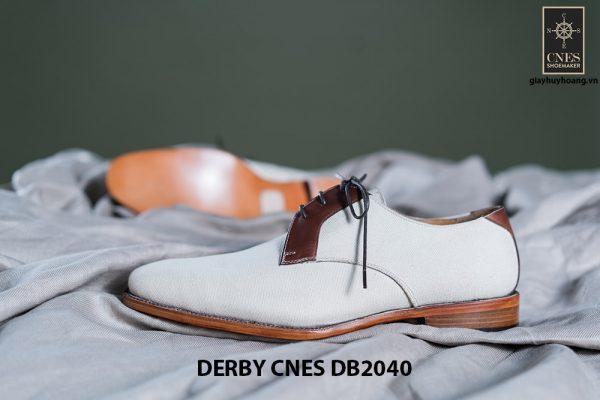 Giày da nam buộc dây Derby CNES DB2040 005