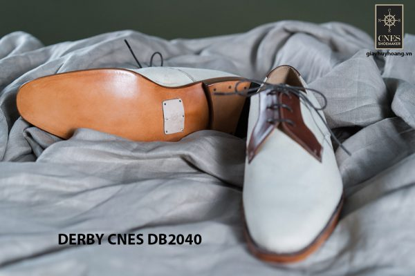 Giày da nam buộc dây Derby CNES DB2040 004