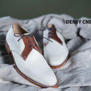 Giày da nam buộc dây Derby CNES DB2040 002