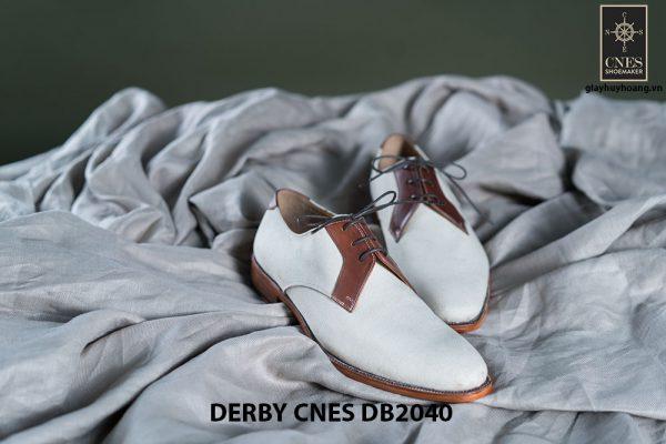 Giày da nam buộc dây Derby CNES DB2040 001