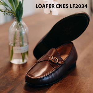 Giày lười nam da bò Loafer CNES LF2034 004