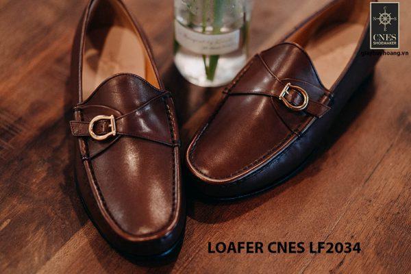 Giày lười nam da bò Loafer CNES LF2034 001