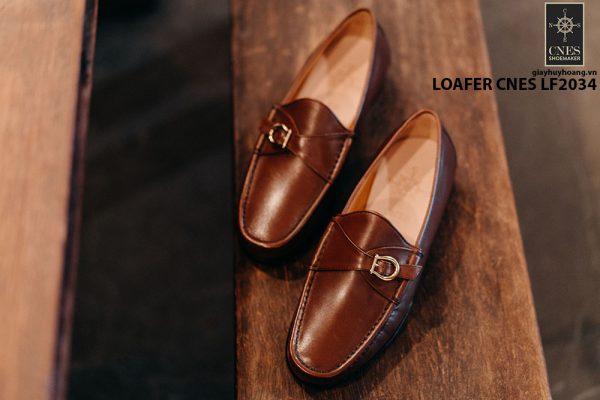 Giày lười nam da bò Loafer CNES LF2034 003