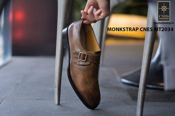 Giày tây nam chất lượng Monkstrap CNES MT2034 005