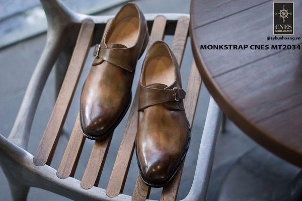 Giày tây nam chất lượng Monkstrap CNES MT2034 001