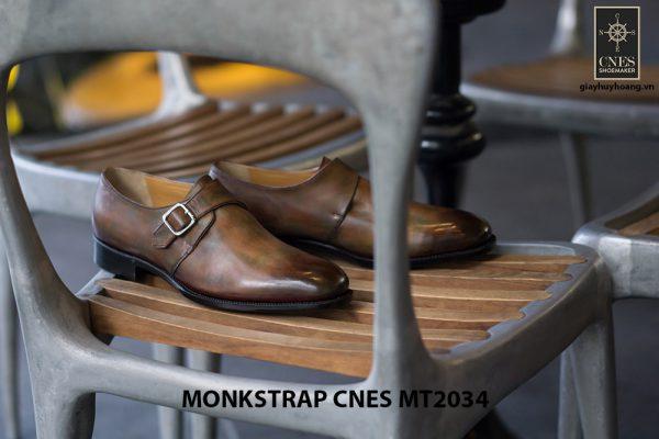 Giày tây nam chất lượng Monkstrap CNES MT2034 002