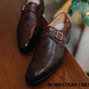Giày tây nam đẹp Monkstrap CNES MT2045 004