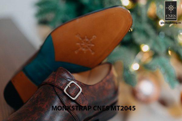 Giày tây nam đẹp Monkstrap CNES MT2045 003