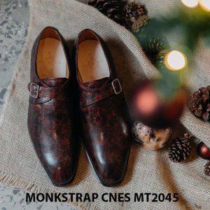 Giày tây nam đẹp Monkstrap CNES MT2045 001
