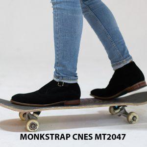 Giày tây nam cao cấp Monkstrap CNES MT2047 001