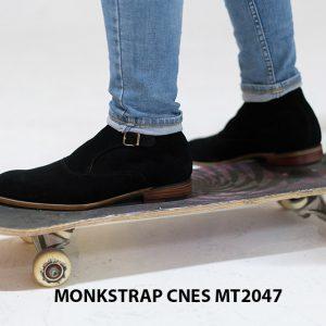 Giày tây nam cao cấp Monkstrap CNES MT2047 005