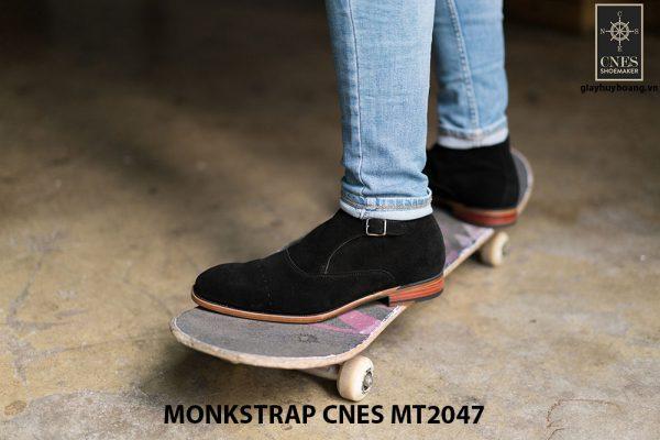 Giày tây nam cao cấp Monkstrap CNES MT2047 004