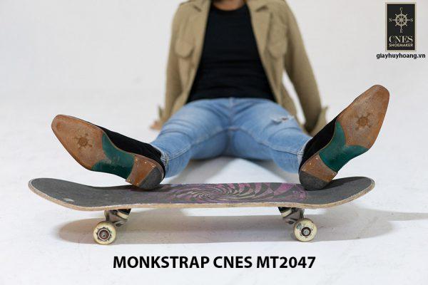 Giày tây nam cao cấp Monkstrap CNES MT2047 003