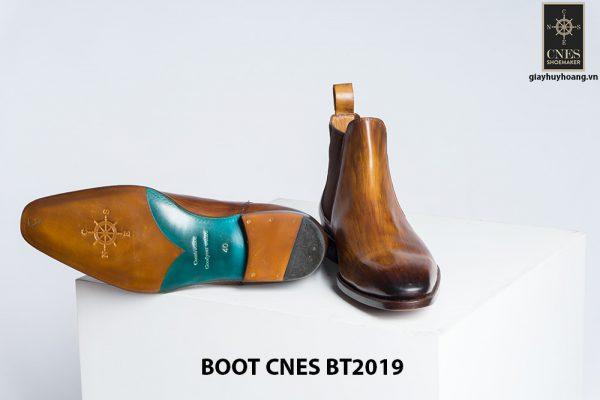 Giày da nam Chelsea Boot CNES BT2019 004
