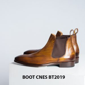 Giày da nam Chelsea Boot CNES BT2019 001