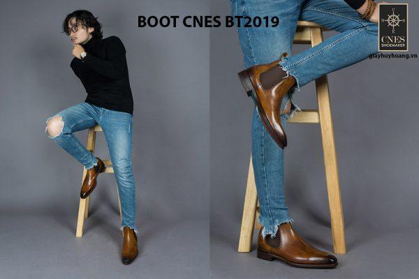Giày da nam Chelsea Boot CNES BT2019 002