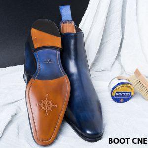 Giày da nam Chelsea Boot CNES BT2021 003