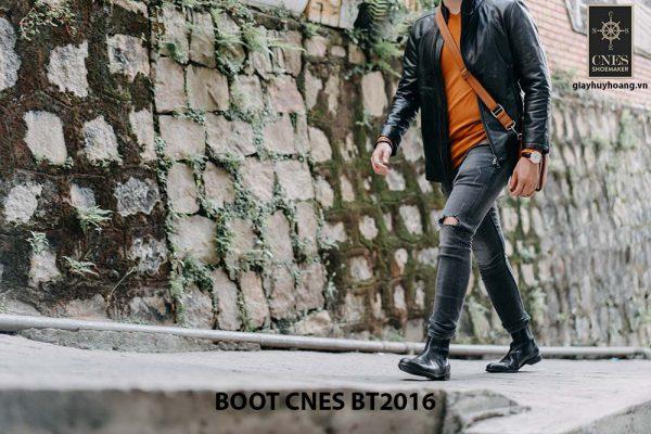 Giày tây nam Boot Chelsea CNES BT2016 003
