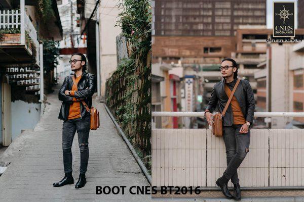 Giày tây nam Boot Chelsea CNES BT2016 002