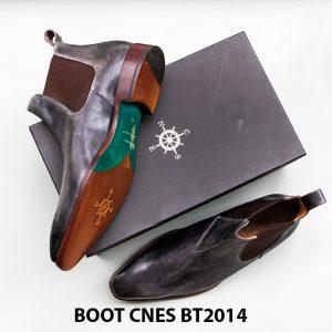 Giày tây nam cổ cao Chelsea Boot CNES BT2014 007