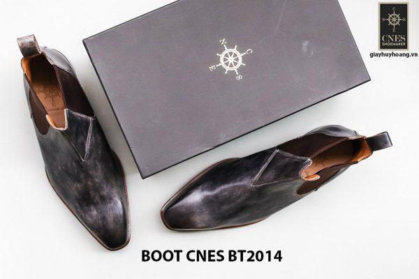 Giày tây nam cổ cao Chelsea Boot CNES BT2014 006