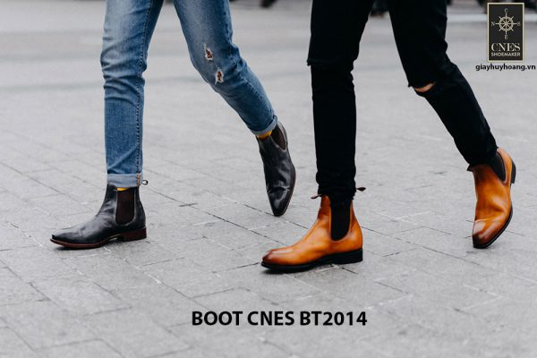 Giày tây nam cổ cao Chelsea Boot CNES BT2014 005
