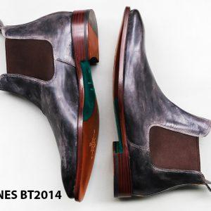 Giày tây nam cổ cao Chelsea Boot CNES BT2014 004
