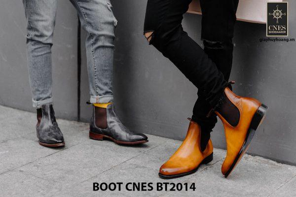 Giày tây nam cổ cao Chelsea Boot CNES BT2014 003