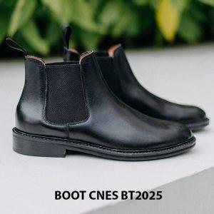 Giày da nam cổ cao Boot CNES BT2025 001