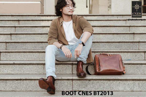 Giày da nam Chelsea Boot CNES BT2013 008