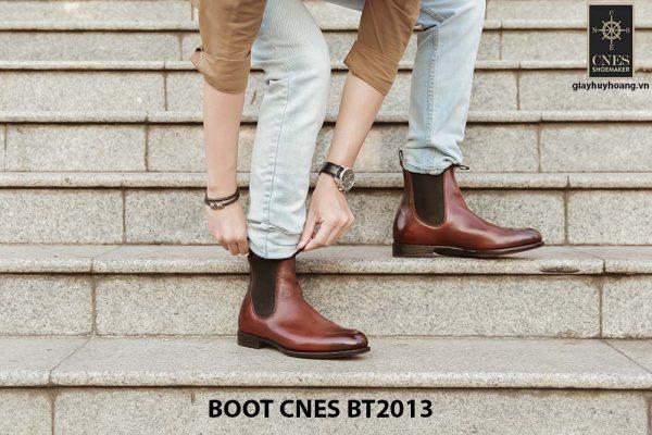 Giày da nam Chelsea Boot CNES BT2013 001