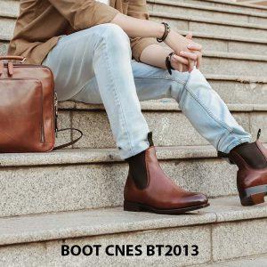 Giày da nam Chelsea Boot CNES BT2013 006